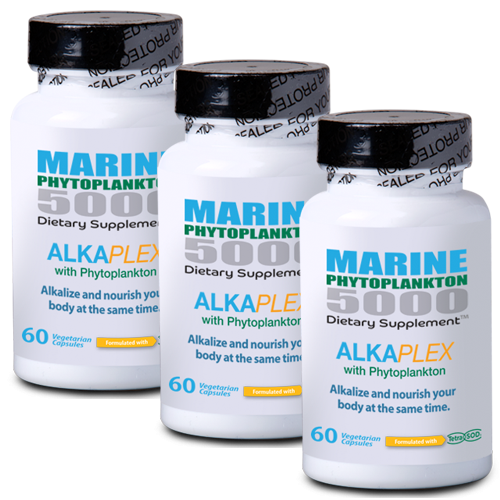 Alka Plex Phytoplankton - Buy 3 Bottles & SAVE!