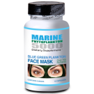 Blue Green Plankton Face Mask